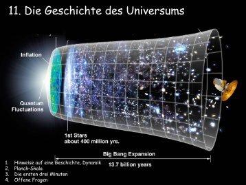11. Die Geschichte des Universums - Abenteuer Universum