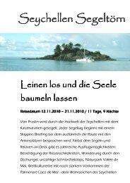 Seychellen Segeltörn Seychellen Segeltörn - Big Blue Tours