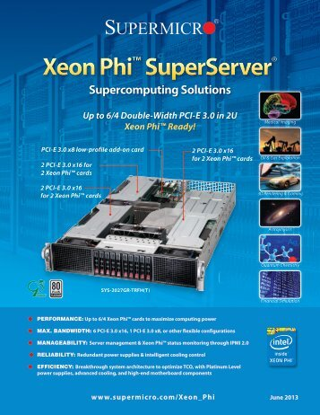 Xeon Phi - Supermicro