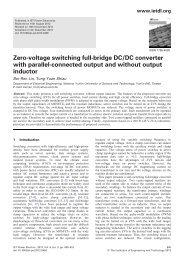 Zero-voltage switching full-bridge DC/DC converter ... - IEEE Xplore