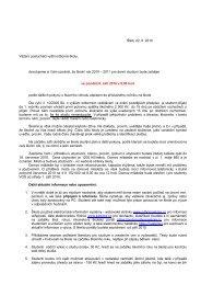 Štětí, 22. 6. 2010 Vážení posluchači vyšší odborné školy ...