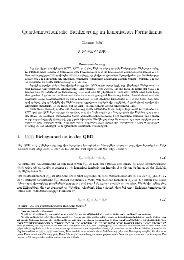 Quantenmechanische Eichfixierung im kanonischen Formalismus