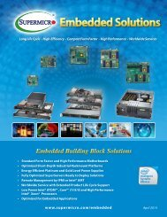 Embedded Solutions - Supermicro