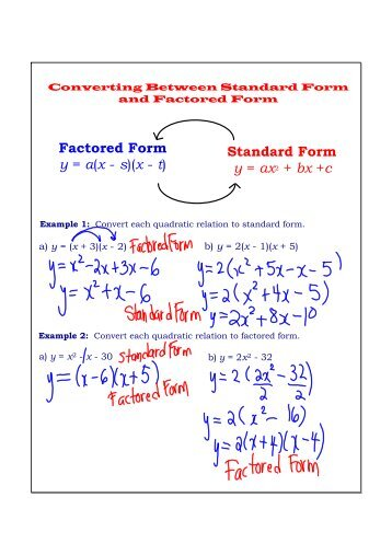 43 Factoring Trinomials Of The Form X2 Bx C