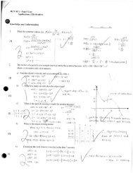 Mcv4u1 notes