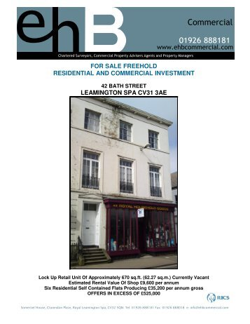 for sale freehold residential and commercial investment - Caldes