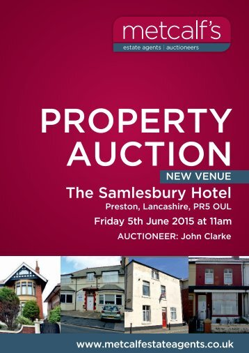 METCALFS AUCTION BOOKLET - Metcalf Estate Agents