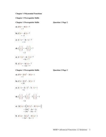 grade 12 advanced functions course information rhhs math rh yumpu com