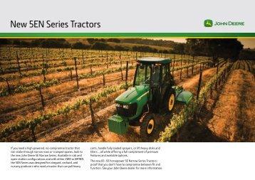 New 5EN Series Tractors - Fatcow