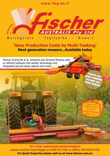 'Save Production Costs by Multi-Tasking' Next generation ... - Fatcow