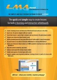 product brochure (pdf) - LMA Tool
