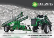 Goldacres Sprayers and Accessories (23264 Kb) - Fatcow