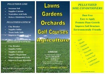 Ace-Min Pelletized Products Brochure (320 Kb) - Fatcow