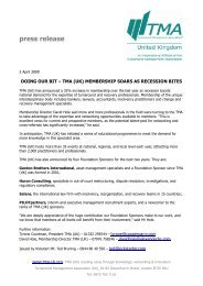 press release - Turnaround Management Association (UK)