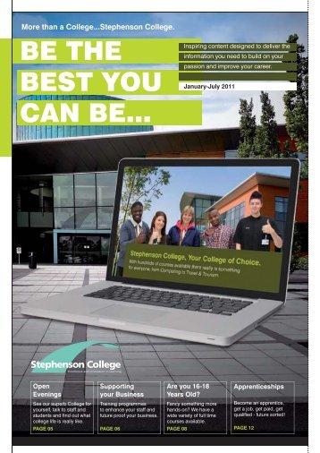 01530 836136 - Stephenson College