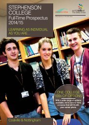 Download the Full-Time Course Guide 2014/2015 (PDF 3.3MB)