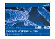 Transforming Pathology Services - Strategicprojectseoe.co.uk