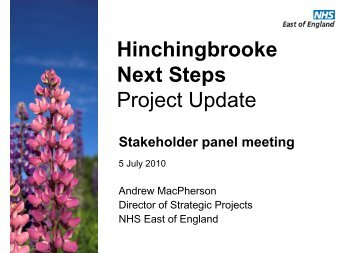 Andrew MacPherson HNS SHP presentation (5 July 10)