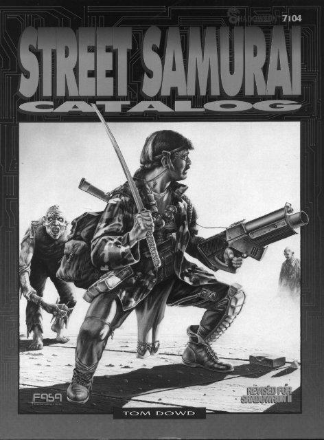 Street Samurai Catalog - Page d'accueil