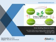 World Green Building Materials Market Size, Share, Growth, Demand, Forecasts, 2014 -2020