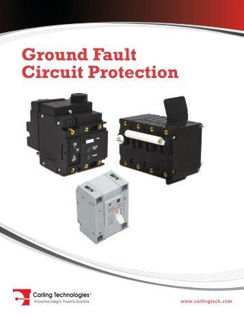 Ground Fault Circuit Protection Catalog [pdf] - carlingtech.com