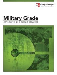 Military Grade - Carling Technologies