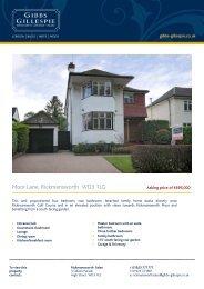 Moor Lane, Rickmansworth WD3 1LG - Waidev8.com