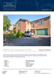 Millthorne Close, Croxley Green, WD3 4AG - Waidev8.com