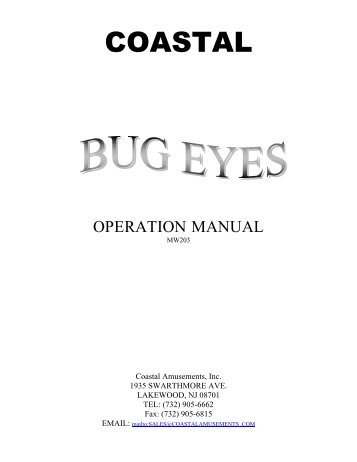 Bug Eyes Manual.1221.pdf - The Shaffer Distributing Company