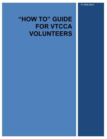 How-To-Guide - Virginia Tech Corps of Cadets