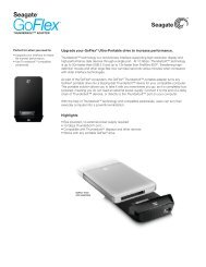 Upgrade your GoFlex® Ultra-Portable drive to increase performance ...