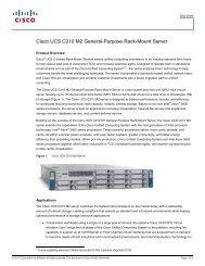 Cisco UCS C210 M2 General-Purpose Rack-Mount Server