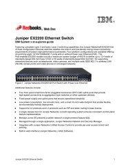 Juniper EX2200 Ethernet Switch