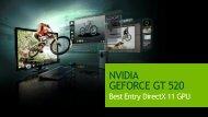 NVIDIA GEFORCE GT 520