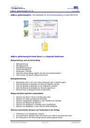 apRechnungPro - Dieter Schirmer, EDV-Beratung
