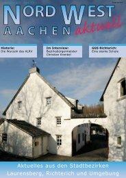 Aktuelles aus den Stadtbezirken Laurensberg, Richterich und Umgebung