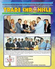 Trade Chronicle May & June 2015