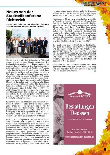 Aktuelles aus Laurensberg, Richterich und Umgebung
