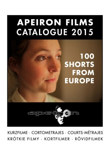 APEIRON FILMS CATALOGUE 2015