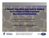 A brief overview of Genetic Algorithms
