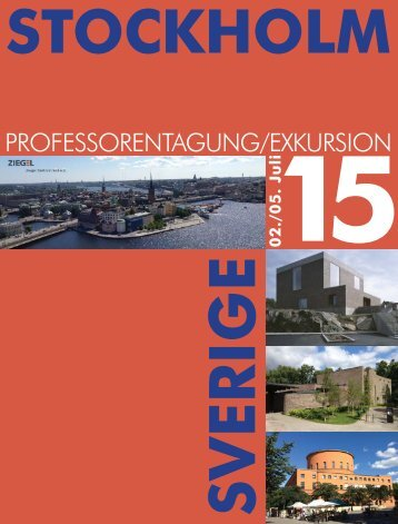 Professoren-Tagung/-Exkursion 2015