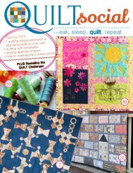 QUILTsocial | Issue 03 Spring 2015
