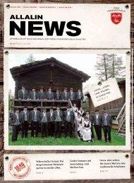 Allalin News Nr. 9/2015
