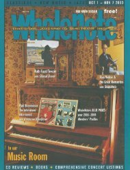 Volume 9 Issue 2 - October 2003