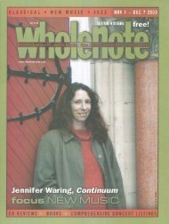 Volume 9 Issue 3 - November 2003