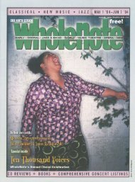 Volume 9 Issue 8 - May  2004