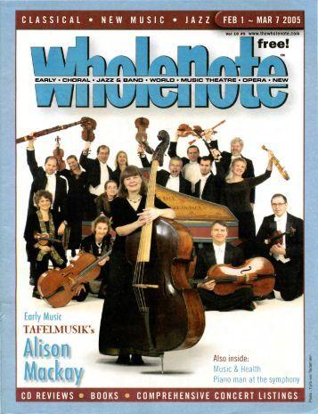 Volume 10 Issue 5 - February 2005