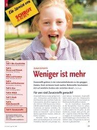Bio-Basiswissen: Zusatzstoffe (Schrot&Korn 3/2009)