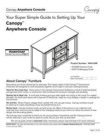 "Canopyâ""¢ Anywhere Console - Walmart"