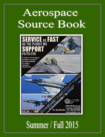 Aerospace Source Book